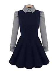 Eilen женские моды оболочки платья