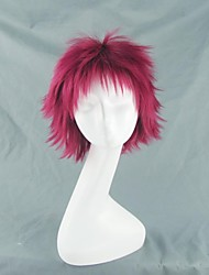 naruto gaara rouge courte perruque cosplay