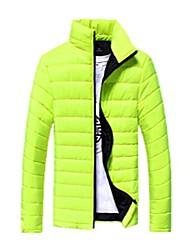 les hommes paul réchauffent épaissir sauvage hiver col mince nouvelle veste en coton rembourré