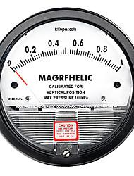 0-1KPA Micro Differential Pressure Gauge Pressure Meter Pointer Gage ELECALL TE2000