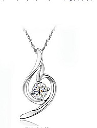 Ladies' Silver Angel Chain Pendant