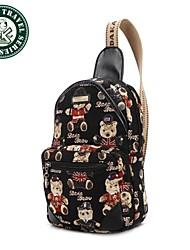 DAKA BEAR Ladies Fashionable Diagonal British Style Chest Pack Bag