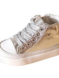 Sneakers de diseño ( Rosado/Plateado/Dorado ) - Comfort/Dedo redondo - Sintético
