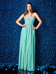 Dress - Jade Plus Sizes / Petite Sheath/Column Sweetheart Floor-length Chiffon