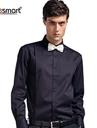 Lesmart Men's Cotton Long-sleeved Shirt