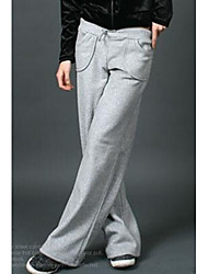 Popular Have Pocket Casual Long Trousers Gray