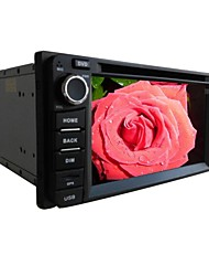 6.2-inch 2 Din TFT Screen In-Dash Car DVD Player For Toyota With Bluetooth,Navigation-Ready GPS,RDS,DVB-T