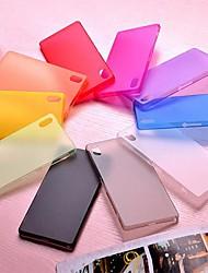 couleur pure ultra-mince de pc pour Sony Xperia Z2 (couleurs assorties)
