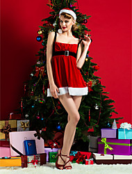 Performance Women's Christmas Costume(Hat Included)