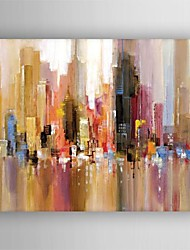 Hand-Painted Abstract 100% Hang-Painted Oil Painting,Traditional One Panel Canvas Oil Painting For Home Decoration