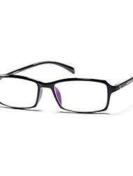 [Free Lenses] TR Rectangle Full-Rim Lightweight Reading Eyeglasses