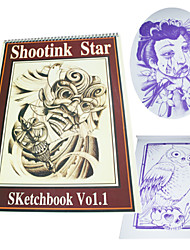 Tattoo Book for Body Art