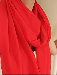 Women Chiffon Scarf , Work/Casual