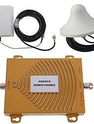 gsm / dcs 900 / 1800MHz Dual-Band-Handy-Signal-Booster-Verstärker Antennen-Kit