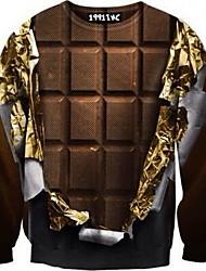 gola redonda masculina nogueira tudo corresponder camisa impressão t padrão térmico