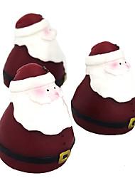 Свеча рождества Санта, парафин, 1 батарея кнопки