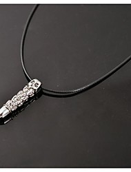 lureme®mens aço colar de titânio colar do punk crânio jóias