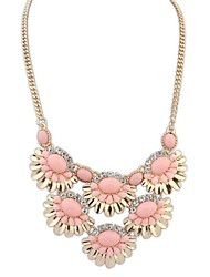 European Style Fashion Fresh Wild Flowers Necklace(More Colors)