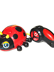 Silverlit 81695S RC Car Lady Beetle Remote Control Animals Car with Light Music