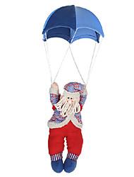 paracadutismo bambola Babbo Natale per i regali di Natale