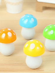 Cute Mushroom Pattern Retracted Blue Ink Ballpoint Pen(Random Colors)