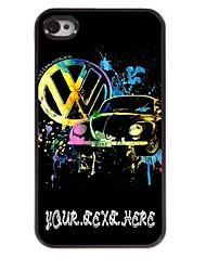 personnalisé cas de téléphone - cas conception métallique de voiture pour iPhone 4 / 4S