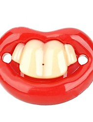 Funny Front Two Teeth Style Baby's Nipple Pacifier