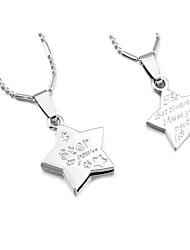 Silver Pendant Necklaces Party / Daily / Casual Jewelry