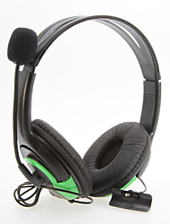 Wired Large Black Headphones for XBOX360