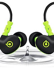 soundbeats sport-Fi s1 geräuschisolierenden In-Ear-Kopfhörer mit Memory-Draht (s1, schwarz / grün)
