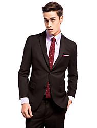Black Slim Fit Two-Piece Suit