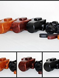 Pajiatu® Retra PU Leather Camera Protective Case Bag Cover for Fujifilm Fuji X-T1 XT1 with 18-55mm Lens