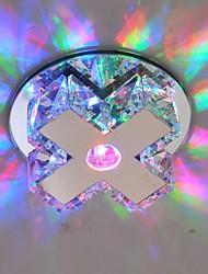 cristal moderno techo accesorio de iluminación llevado luz del pasillo