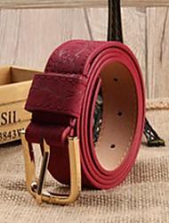 Women Waist Belt , Vintage/Work/Casual Alloy/Leather