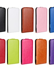 Flip-Open Horse Grain PU Leather Full Body Case for HTC One X (Assorted Colors)