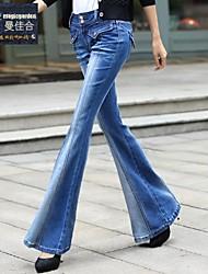 magicgarden®: 2014 pantalones vaqueros grandes piratas de la mujer bajo la cintura fina cultiva su espectáculo delgadas sexy micro pantalones piratas