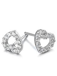 q-loverly 925 reines Silber Ohrstecker Tremella Nagel Mädchen harley niedlich Mode earing