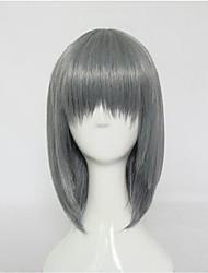 Harajuku Style Mixed Grey Short Lolita Wig
