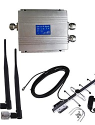 New LCD GSM 900MHz Cell Phone Signal Booster Amplifier Antenna Kit