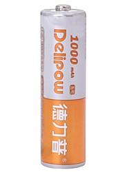 delipow 1.2V 1000mAh AA перезаряжаемые никель-кадмиевых батарей