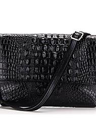 Women's Crocodile Leather Handbags Clutch Bag Messenger Shoulder Bags