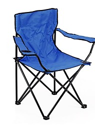 Outdoor Folding Portable Armrest Chair Armchair Seat Camping Fishing Travel BBQ - Random Color