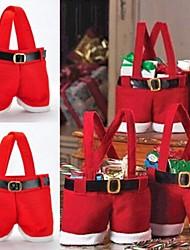 22 * 15см Санта брюки конфеты сумки