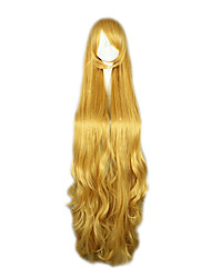 Cosplay Wigs Cosplay Victorique De Blois Yellow Extra Long Anime Cosplay Wigs 150 CM Heat Resistant Fiber Female