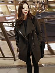 Feilin biancheria coreano cappotto sottile delle donne