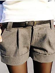 pantalones cortos de talla grande de las mujeres (más colores)