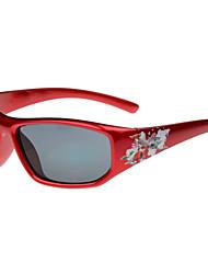 Gafas de Sol niños's Clásico / Retro/Vintage / Moda / Geek y Chic Rectángulo Rojo Gafas de Sol Completo llanta