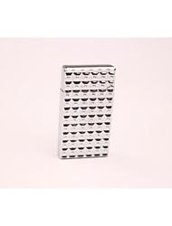 Creative Metal Water Cube Butane Lighter Silver Gold