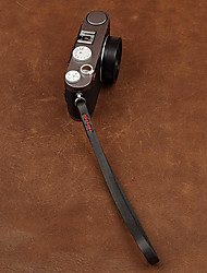 cam-in cam3021-2 genuino cinturino da polso in pelle per la macchina fotografica