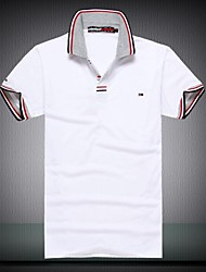 Men's Fashion Casual Short Sleeved T Shirt POLO Shirts